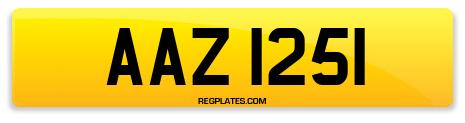 Registration AAZ 1251