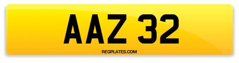 Registration AAZ 32