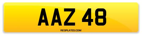 Registration AAZ 48