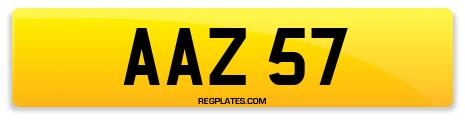 Registration AAZ 57