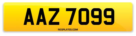 Registration AAZ 7099