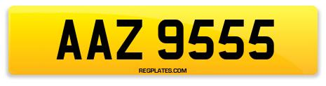 Registration AAZ 9555