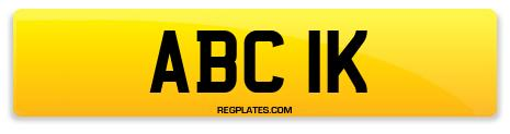 Registration ABC 1K