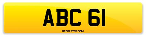 Registration ABC 61