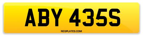 Registration ABY 435S