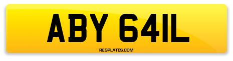 Registration ABY 641L