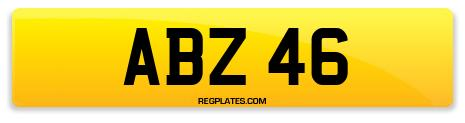Registration ABZ 46