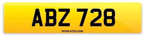 Registration ABZ 728