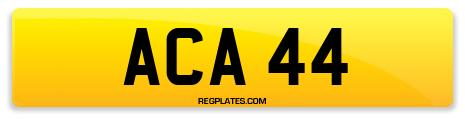 Registration ACA 44
