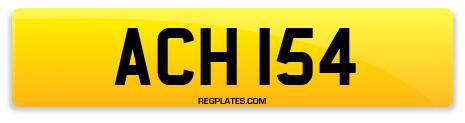Registration ACH 154