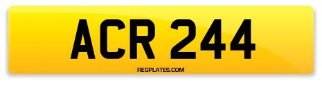 Registration ACR 244
