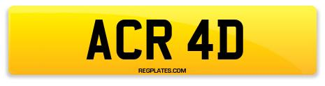 Registration ACR 4D
