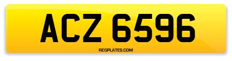 Registration ACZ 6596