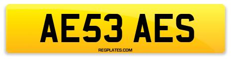 Registration AE53 AES