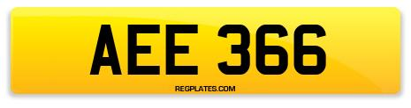 Registration AEE 366