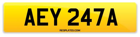 Registration AEY 247A