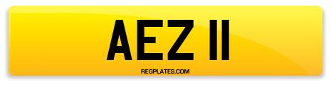 Registration AEZ 11