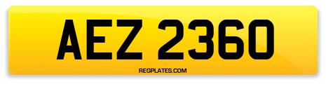 Registration AEZ 2360