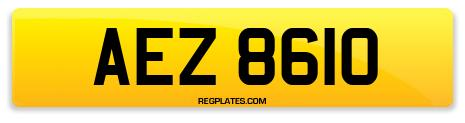 Registration AEZ 8610