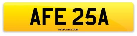 Registration AFE 25A