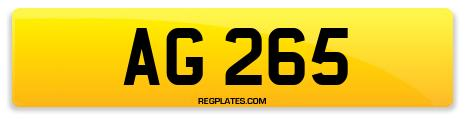 Registration AG 265