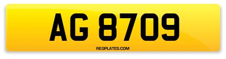Registration AG 8709