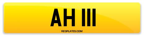 Registration AH 111