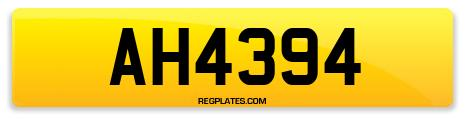 Registration AH4394