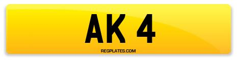 Registration AK 4
