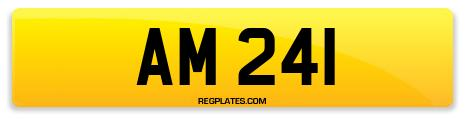 Registration AM 241