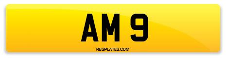 Registration AM 9