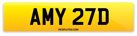 Registration AMY 27D