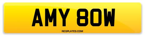 Registration AMY 80W