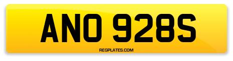 Registration ANO 928S
