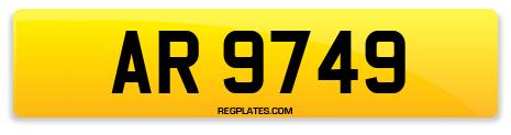 Registration AR 9749