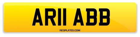 Registration AR11 ABB