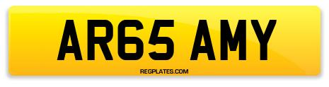 Registration AR65 AMY