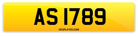 Registration AS 1789