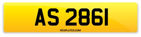 Registration AS 2861