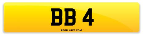Registration BB 4