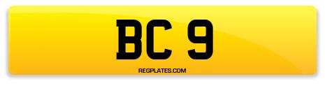 Registration BC 9