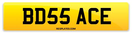 Registration BD55 ACE