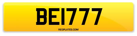 Registration BE1777