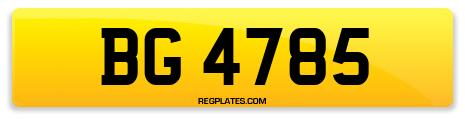 Registration BG 4785