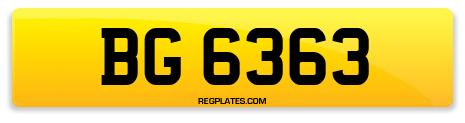Registration BG 6363