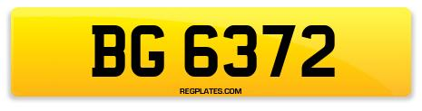 Registration BG 6372