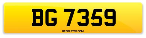 Registration BG 7359