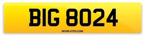 Registration BIG 8024