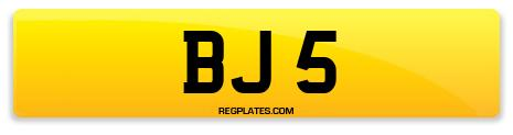 Registration BJ 5
