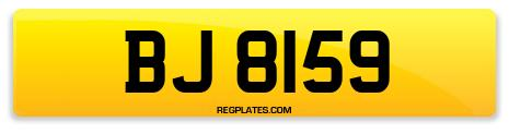 Registration BJ 8159